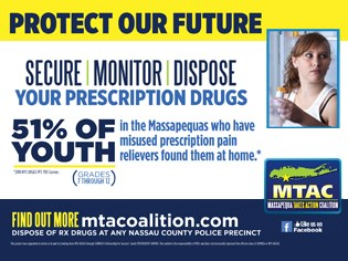MTAC Secure Monitor Dispose Print Ad with Girl