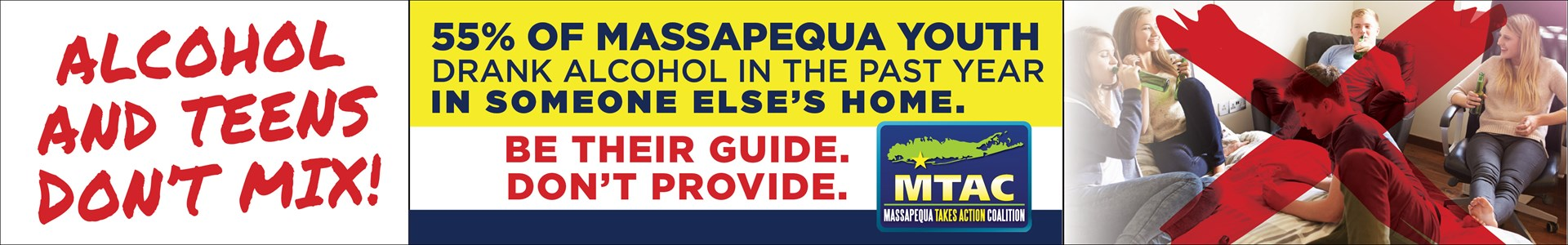 Massapequa Takes Action - Teens and Alcohol Don't Mix