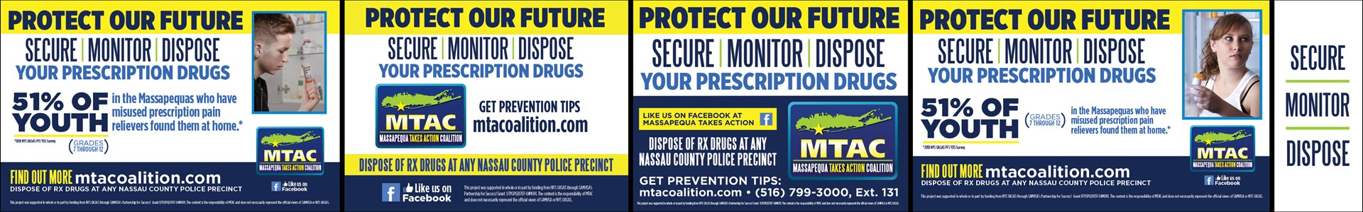 Massapequa Takes Action - Secure Monitor Dispose Collage